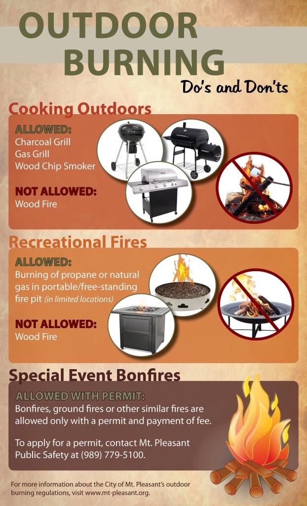 Burning Ordinance Infographic