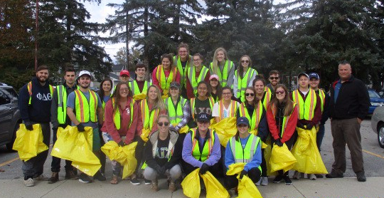 CMU 'Greeks Clean the Streets'