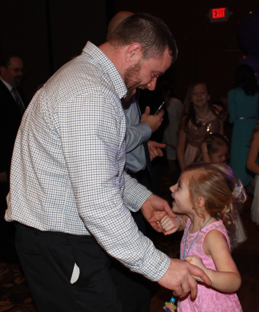 34th annual Daddy-Daughter Date Night planned for Jan. 21; Register today