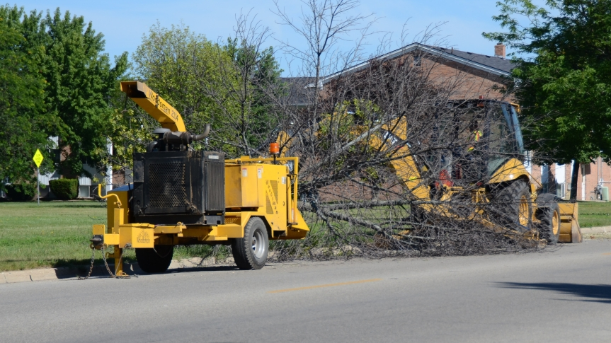 City extends deadline to April 6 to register for free brush chipping service