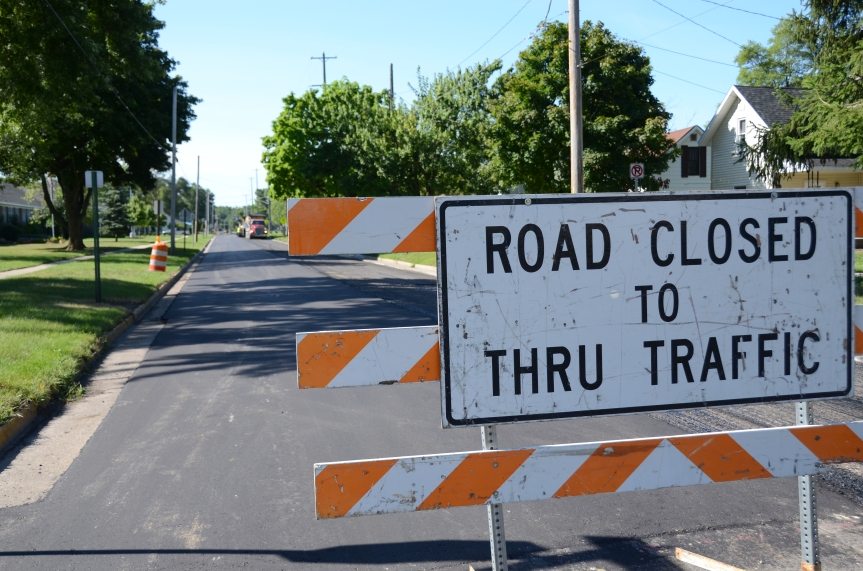 North Main Street (Pickard to Lincoln) Closed on Wednesday, August 29 at 5 p.m.