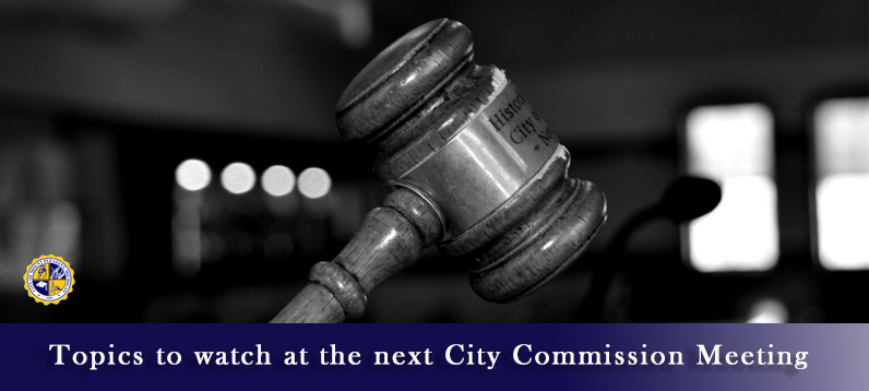 Topics to Watch at the VIRTUAL Mt. Pleasant City Commission Meeting – January 25,2021