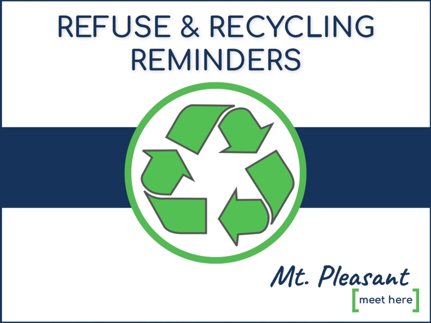 Refuse and Recycling Reminders