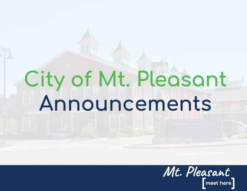 City of Mt. Pleasant Provides Outdoor Business Activity Options