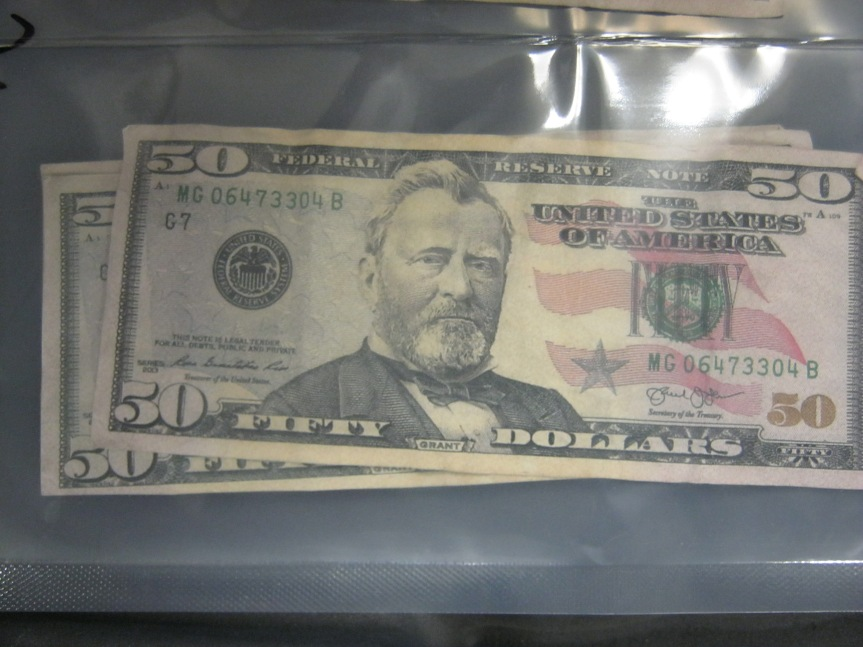 Counterfeit Bill 1 April 2019