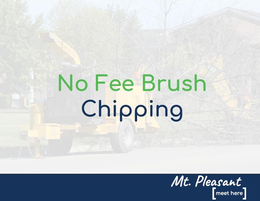 City to offer no fee brushchipping