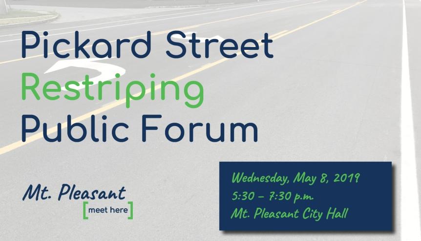 Pickard Street Restriping Forum – InputRequested