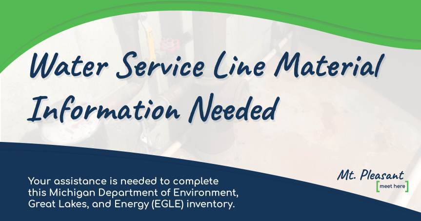 EGLE's Water Service Line Material Identification Inventory