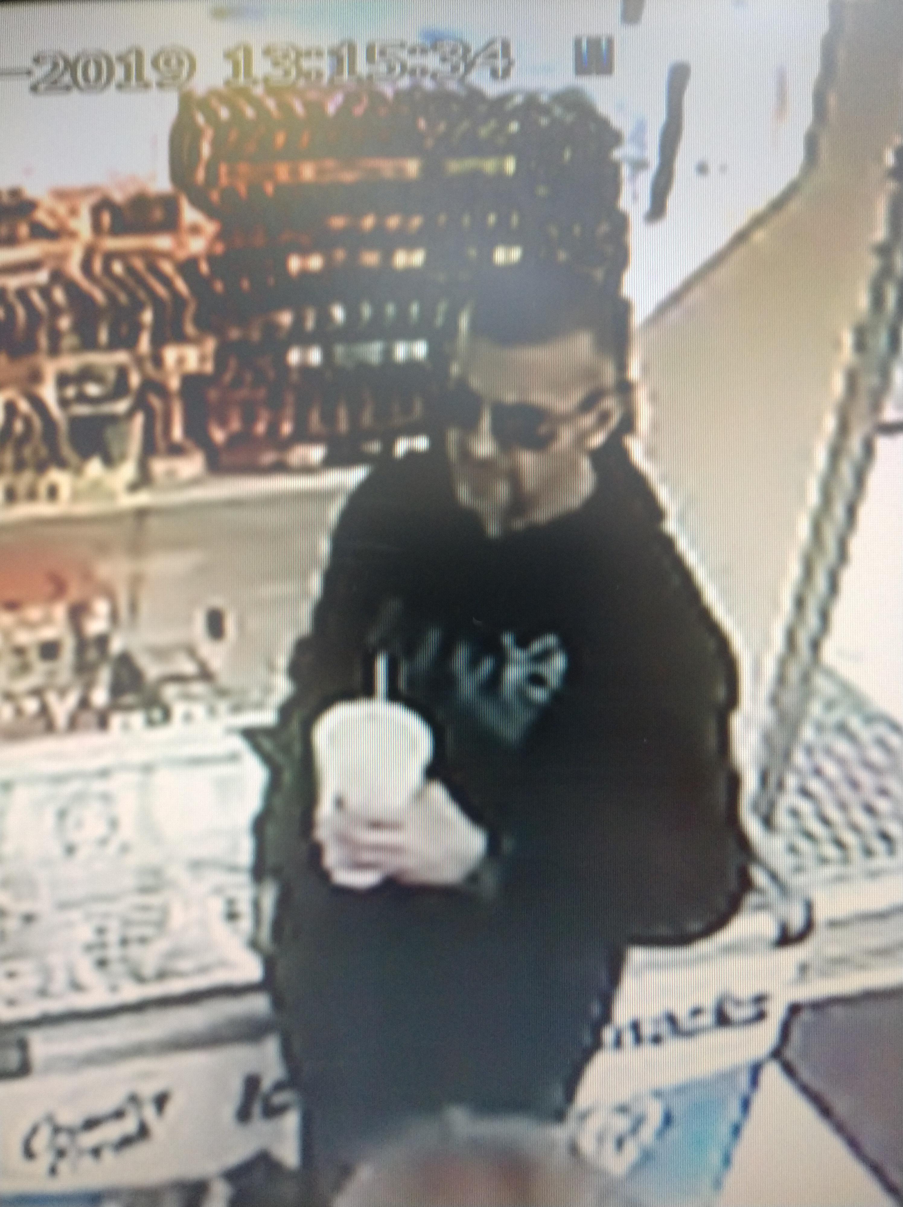 EZ Mart suspect image November 2019