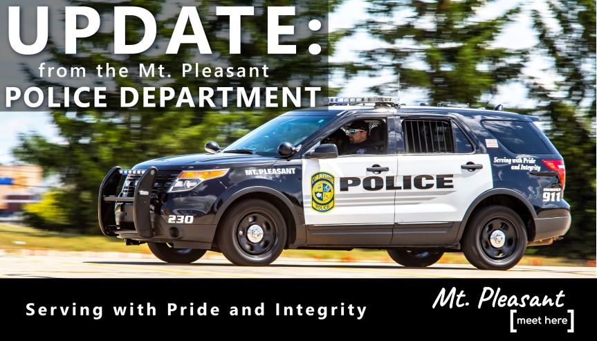 Mt Pleasant Police Department Investigates Shooting – No Risk to the Public