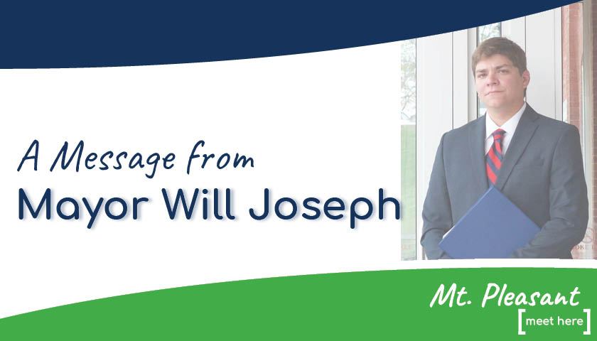 A Message from Mayor Will Joseph (April 5, 2020)