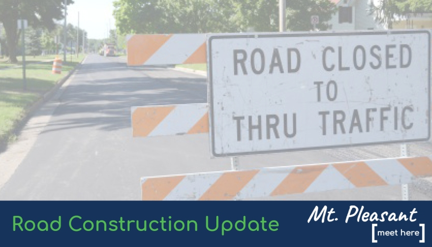 Brown Street Reconstruction Project Update: Brown and Broadway Street Detour July 7-9, 2020