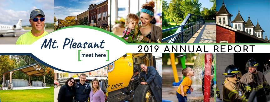 City of Mt. Pleasant's 2019 AnnualReport