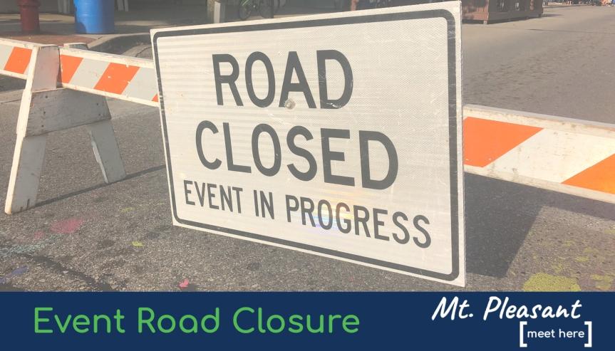 Street Closure Notice: Thursday, September 10,2020