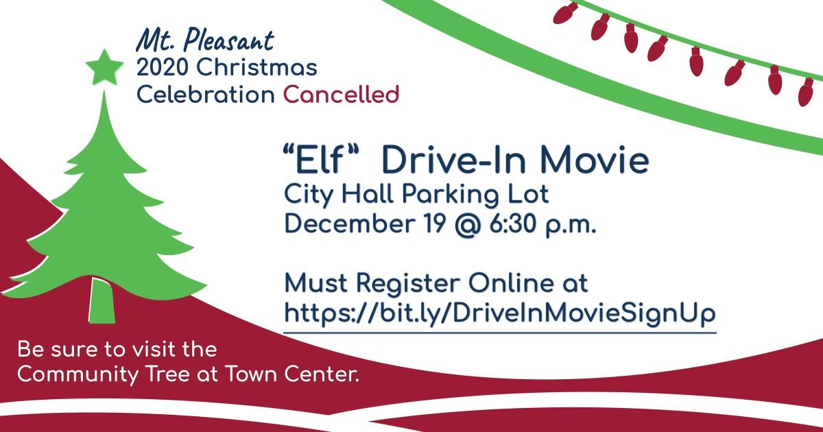 Celebration Of Christmas 2020, December 19 Mt. Pleasant Christmas Celebration Cancelled – City of Mt.Pleasant
