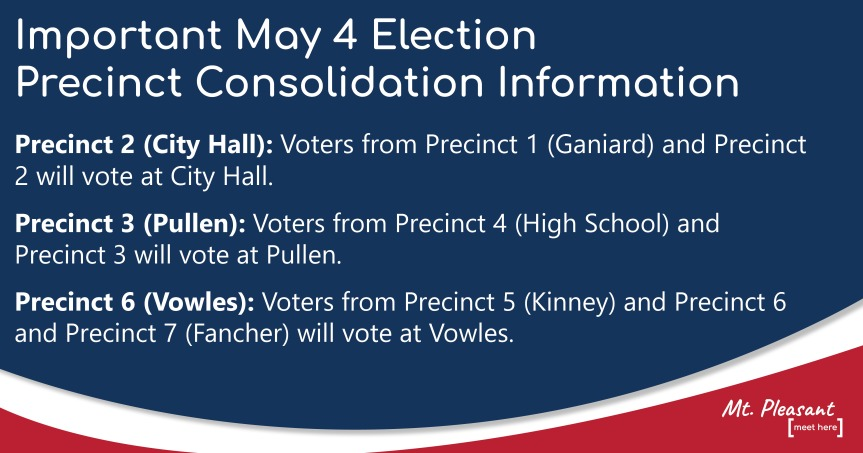 May 4 Special Election Voter Information