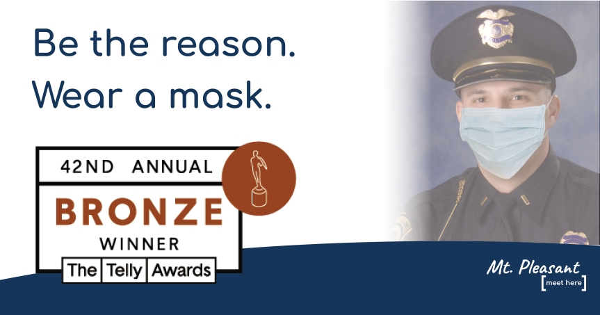 Additional Video Campaign Honor: City of Mt. Pleasant Receives BronzeTelly